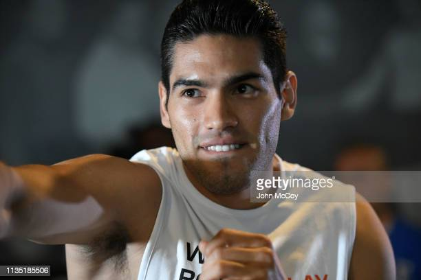 Light heavywieght boxer Gilberto Zuerdo Ramirez works out at Fortune Gym on March 11 2019 in Los Angeles California