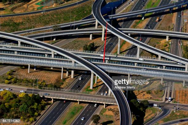 Light Horse Interchange, Western Sydney, Aerial Photography