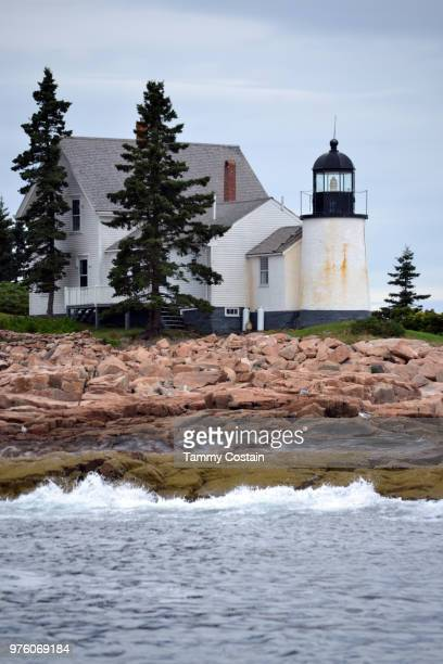 light house bar harbor, maine - tammy bar stock pictures, royalty-free photos & images
