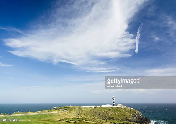 light house - county cork stock pictures, royalty-free photos & images