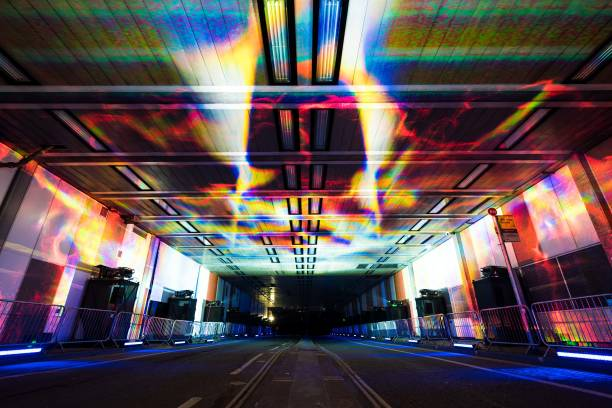 culture mile presents tunnel visions array as part of barbican