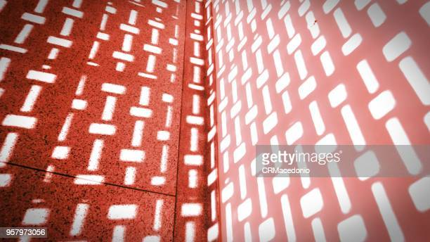 light in red and white. - crmacedonio stock photos and pictures