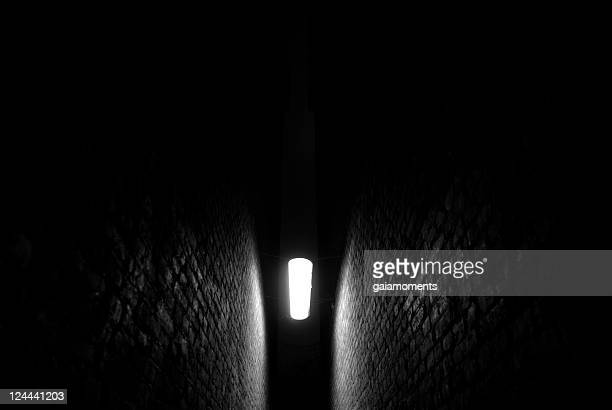 light in the darkness - recessed lighting stock pictures, royalty-free photos & images