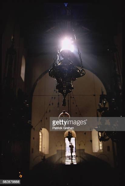 Light Inside the Church of the Nativity