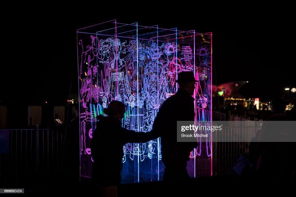 Vivid Sydney Light Festival 2017 : News Photo