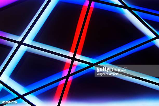 Light lines background
