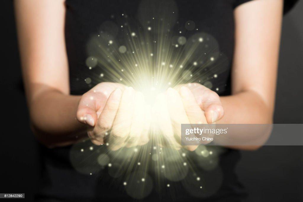 Light of hope : ストックフォト