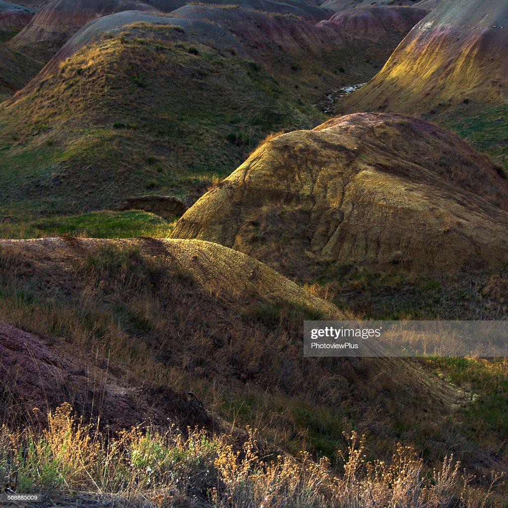 Light on the Badlands : Stock Photo