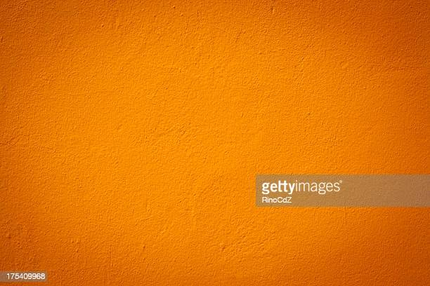 light orange color wall texture - oranje stockfoto's en -beelden
