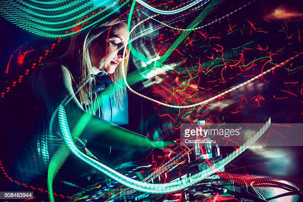 DJ, Light Painting