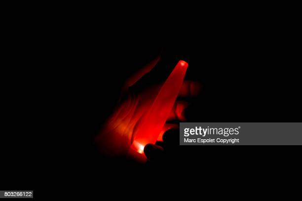 light painting - gorilla hand stock photos and pictures