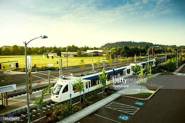 Light Rail Commuting Portland Oregon