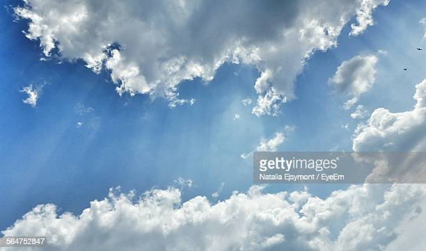 Light Rays Behind Clouds