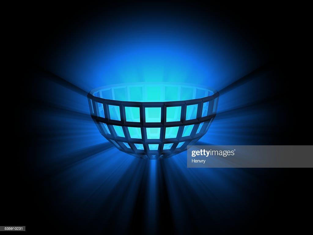 light semisphere : Stock Photo