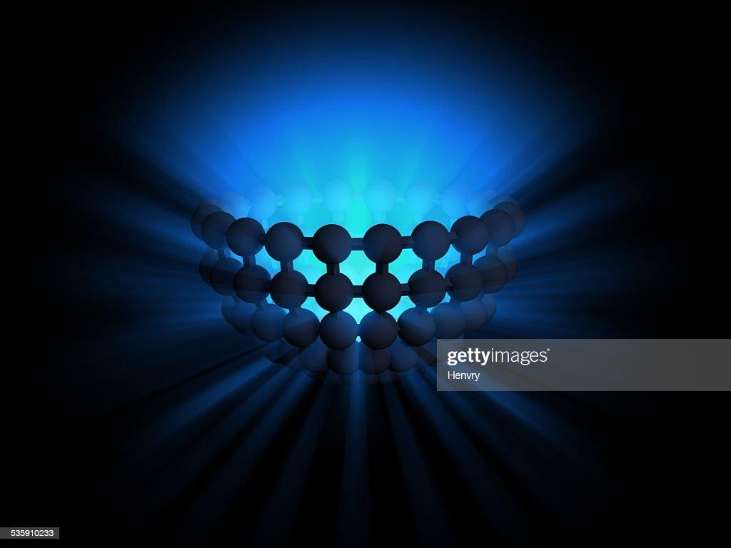 Luz semisphere : Foto de stock
