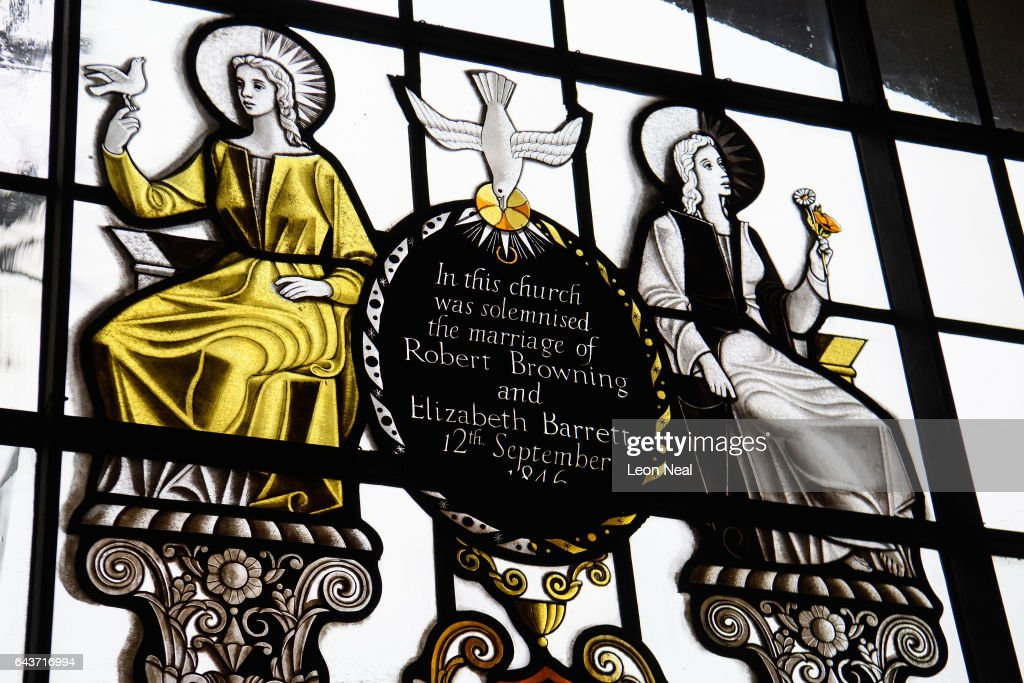 Poets Love Is Remembered In The Browning Room At St Marylebone