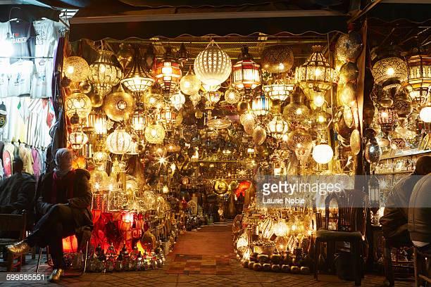 Light shop, Souks, Marrakech, Morocco