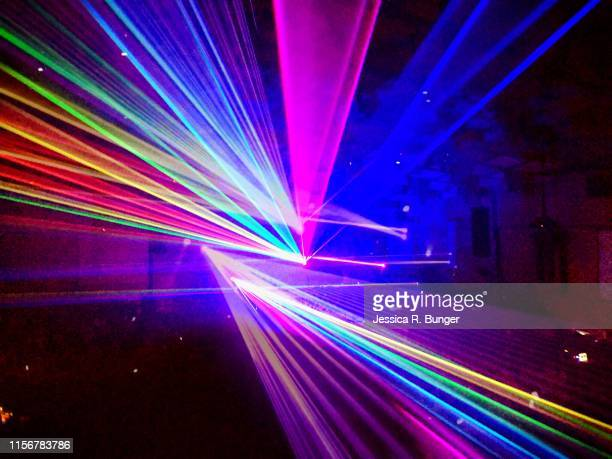 light show - laser stock pictures, royalty-free photos & images