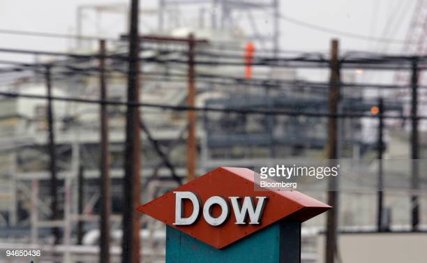 Light snow falls on the Dow Chemical Co Michigan Operations Facility in Midland Michigan on Thursday April 2007 Dow Chemical Co said it fired two...