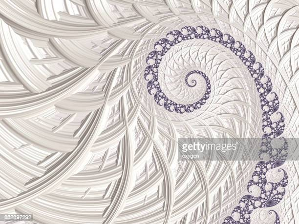 Light Spiral Abstract background