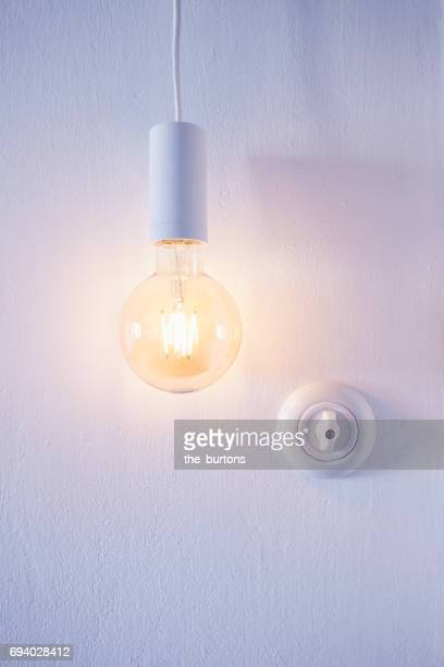 light switch and lamp