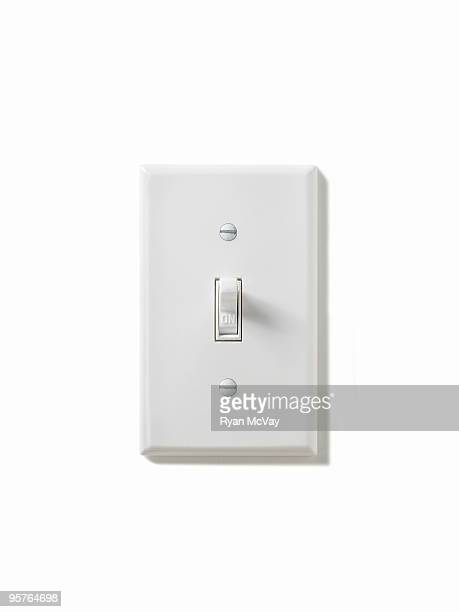 light switch turned on