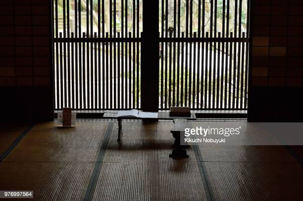 light that points from the lattice. - 和室 ストックフォトと画像