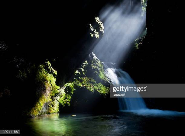 light the ravine - isogawyi stock pictures, royalty-free photos & images