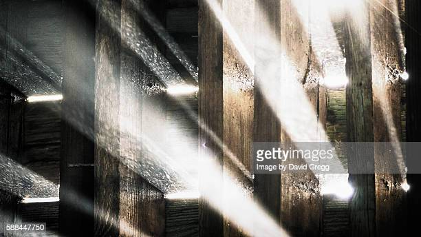 Light through the Beams