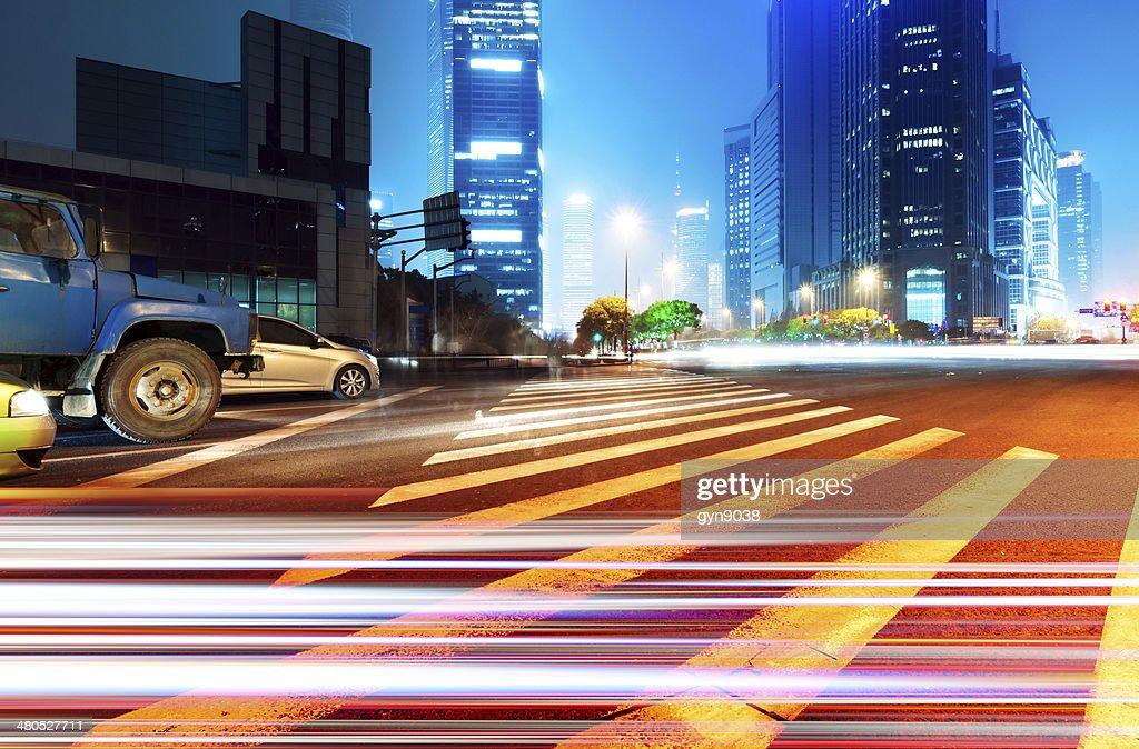 Light trails : Stock Photo