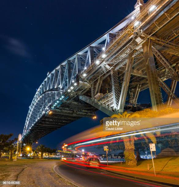 Light Trails under Sydney Harbour Bridge