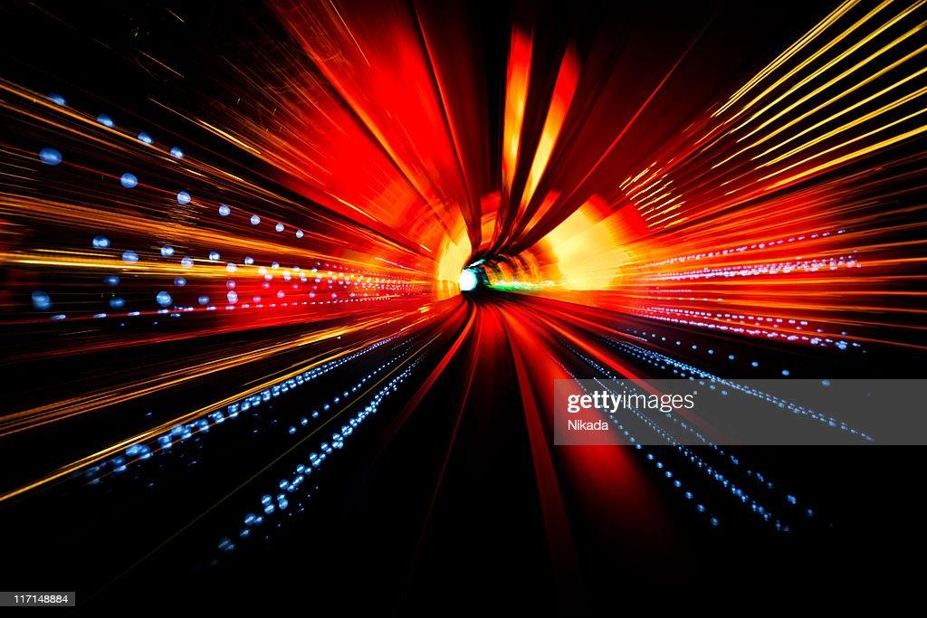Light Tunnel : Stock Photo