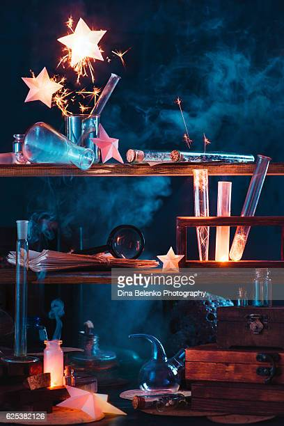 Light up your own stars: chemical experiment with fusion
