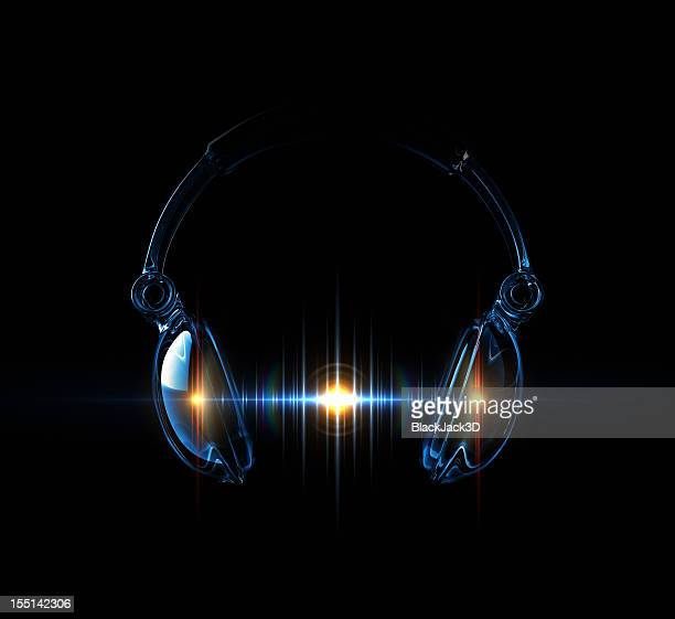 light wave of sound - dj stock pictures, royalty-free photos & images