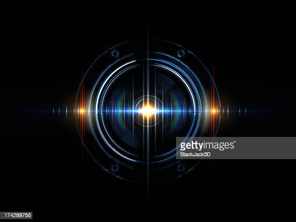 light wave of sound - sound recording equipment stock pictures, royalty-free photos & images