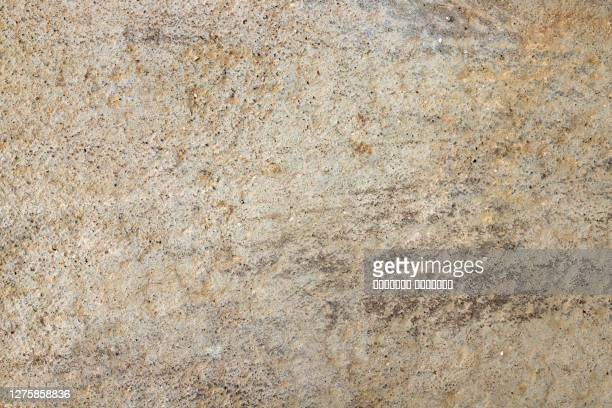 light yellow concrete cement wall or floor, plastered rough surface abstract natural background. - beige photos et images de collection