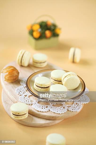 Light Yellow Macarons