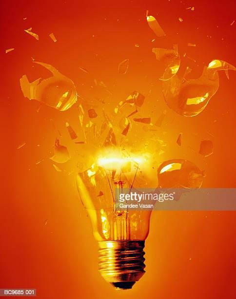 Lightbulb exploding (Digital Composite)