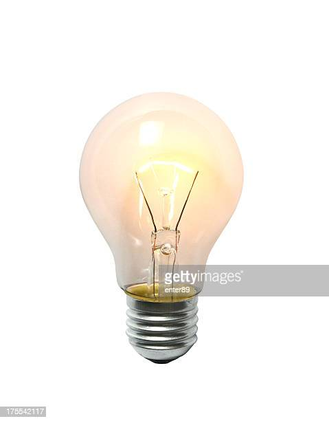 lightbulb - electric lamp stock pictures, royalty-free photos & images