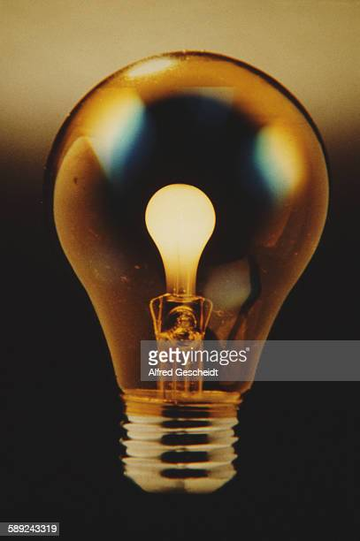 A lightbulb with another lightbulb for a filament 1983