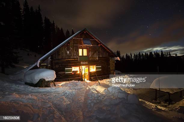 Atténuées de montagne dans les Alpes autrichiennes