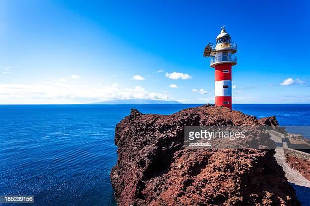 Phare et vue sur l'océan aux Îles Canaries