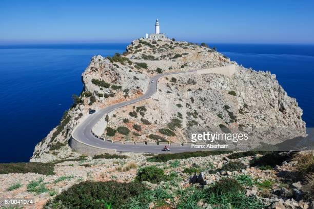 Lighthouse at Cap de Formantor, Mallorca, Spain