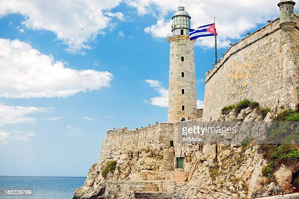 Lighthouse at Castillo del Morro, Havana, Cuba
