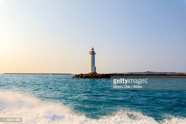 lighthouse at ishigaki island - 石垣 ストックフォトと画像