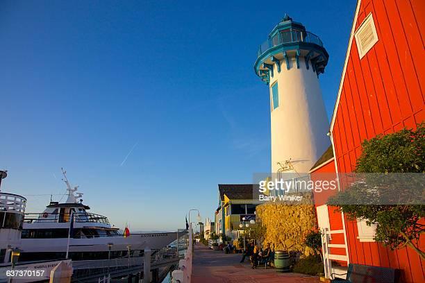 Lighthouse at lagoon, Marina del Rey, California