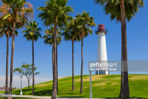 lighthouse at long beach california - long beach california stock pictures, royalty-free photos & images