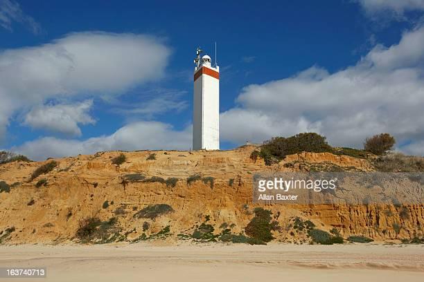 Lighthouse at Matalascanas beach