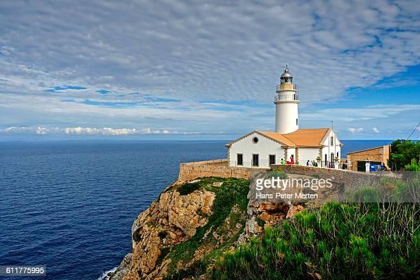 lighthouse at Punta de Capdepera