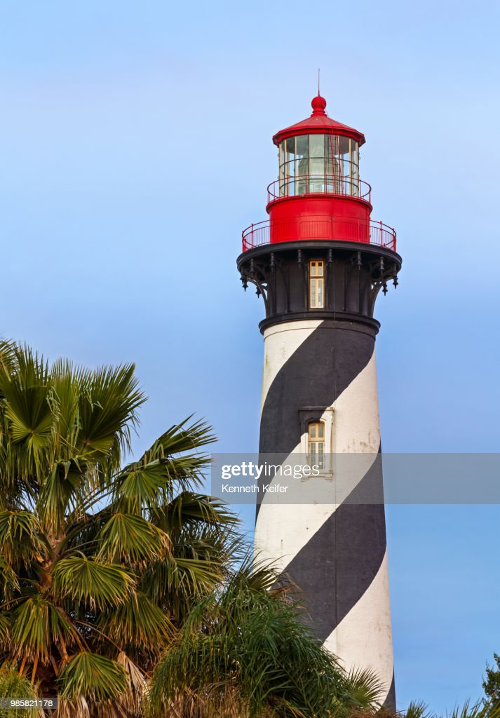 Lighthouse at St. Augustine, Florida : Stock Photo